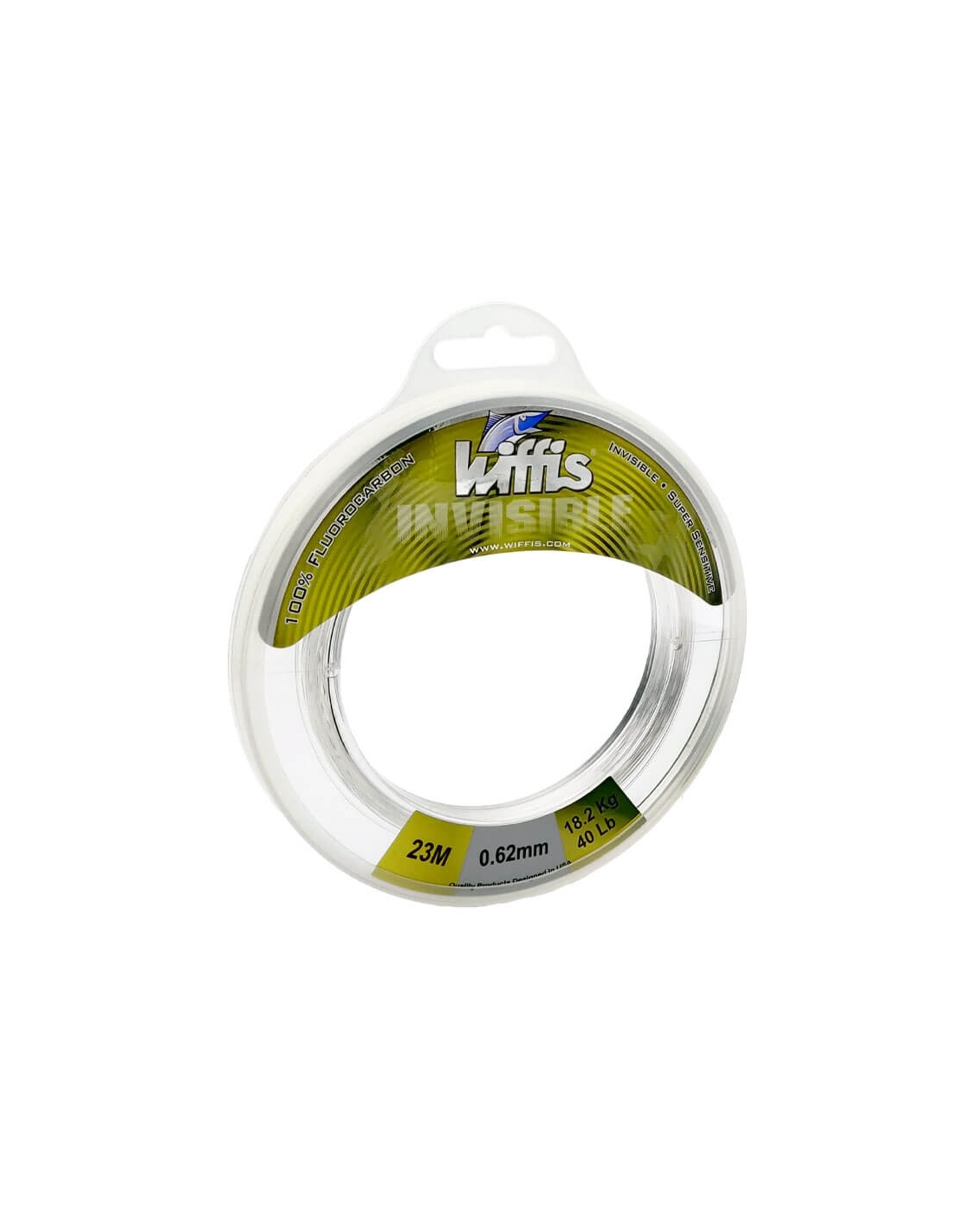 Leader Fluorocarbono Wiffis Invisible 23 m