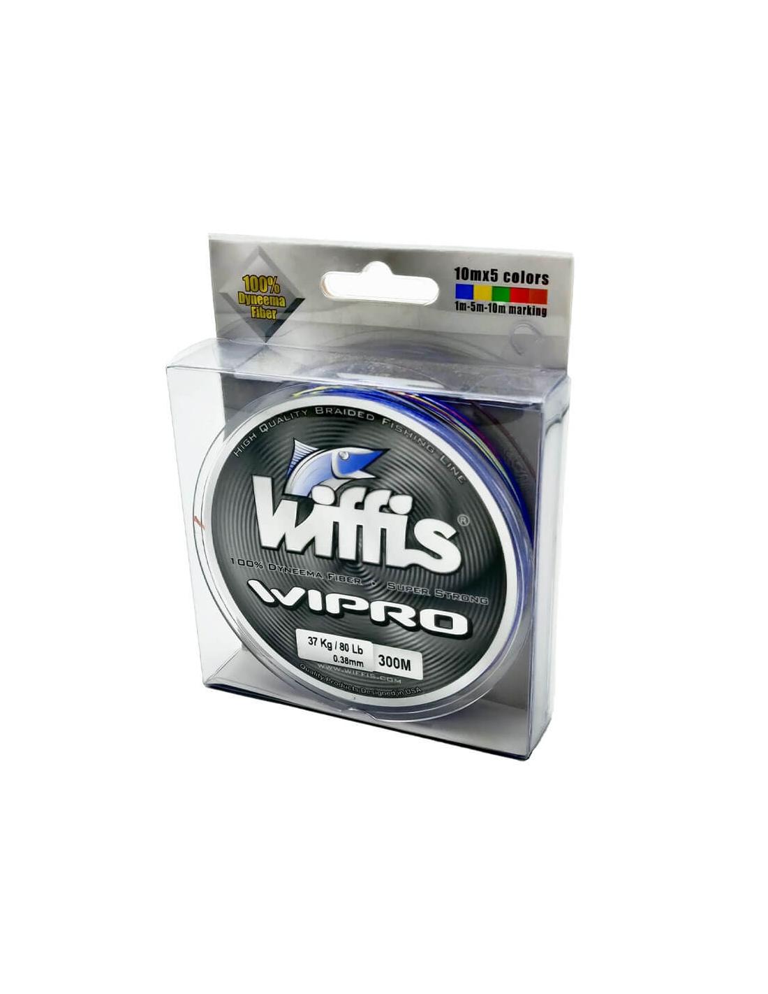 Línea Trenzada Multicolor Wiffis Wipro 300 m