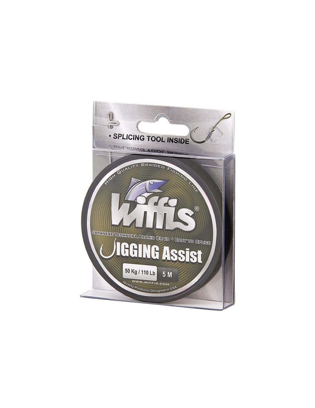 Línea de Pesca Trenzada Wiffis Jigging Assist 5 mts